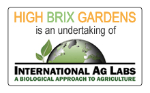 High Brix Gardens is and undertaking of International Ag Labs
